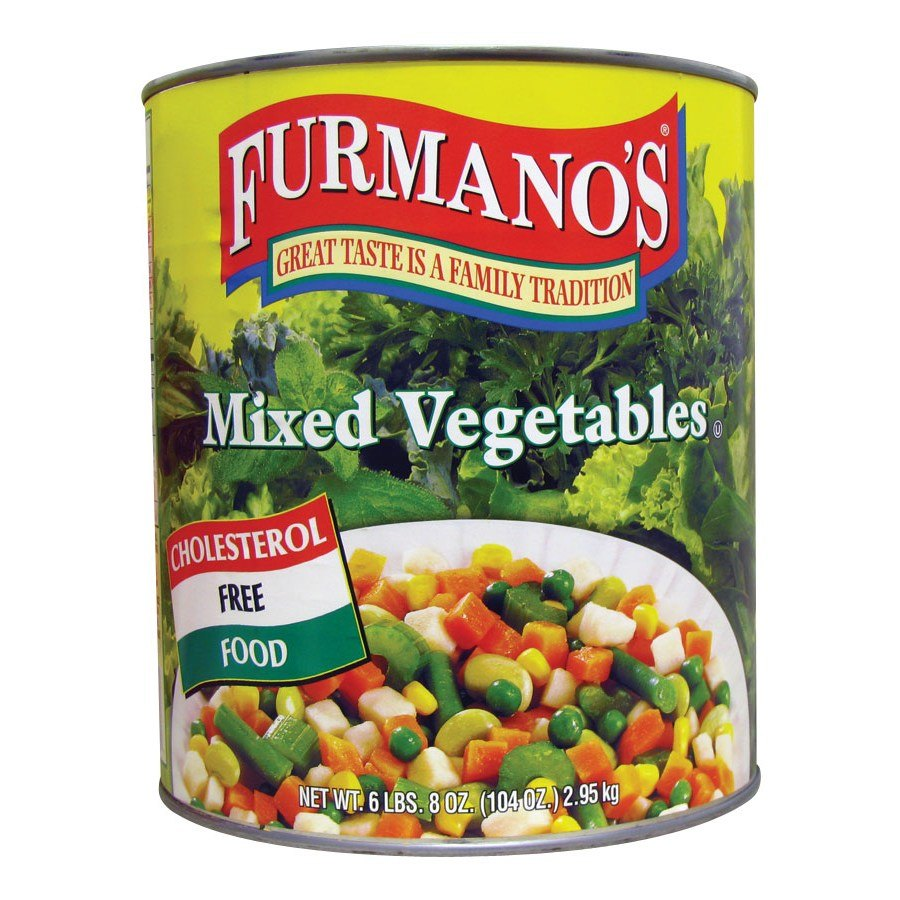 Furmano's Mixed Vegetables - #10 Can