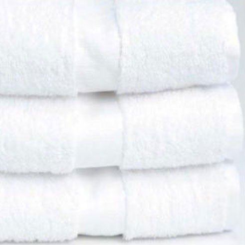 "Hotel Wash Cloth - Welcam 12"" x 12"" 86/14 Cotton / Poly 1 lb. - 300/Case"