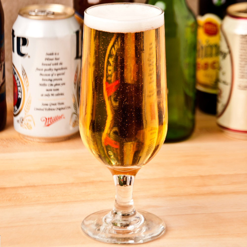 24 oz beer glass - Bamboo tiki bars