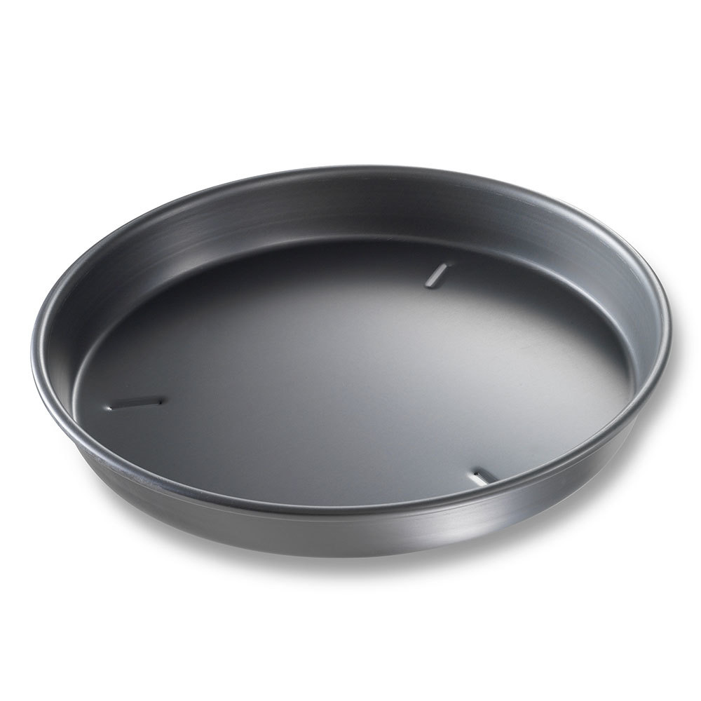 "Chicago Metallic 91135 13"" x 1 1/2"" BAKALON Pre-Seasoned Aluminum Deep Dish Pizza Pan at Sears.com"