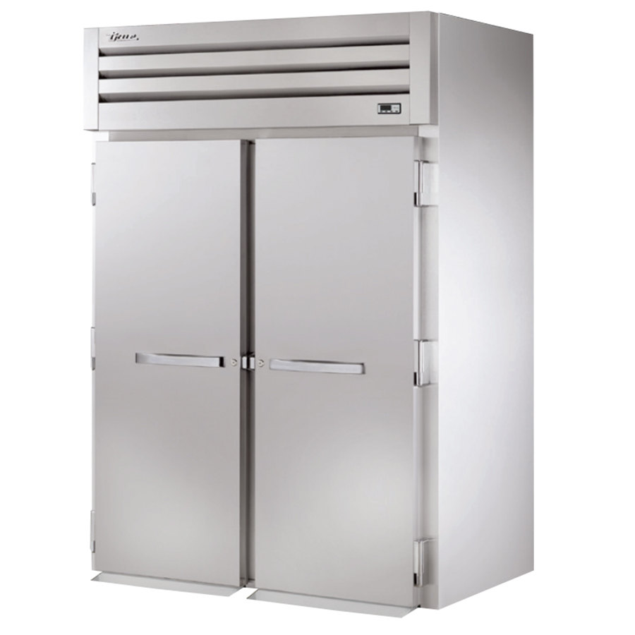 True STR2HRI-2S Specification Series Two Section Roll In Heated Holding Cabinet - 75 Cu. Ft.