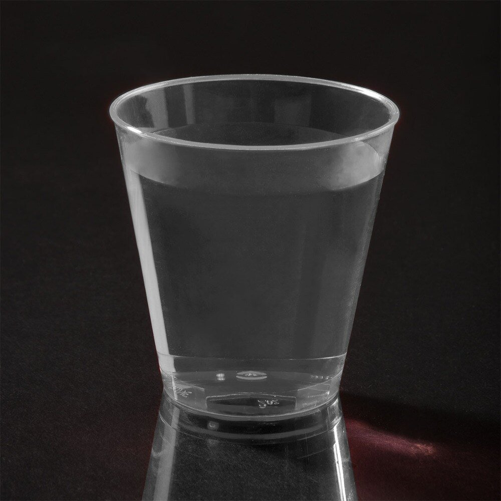 Fineline Quenchers 402 2 oz. Plastic Shot Cup 50 / Pack