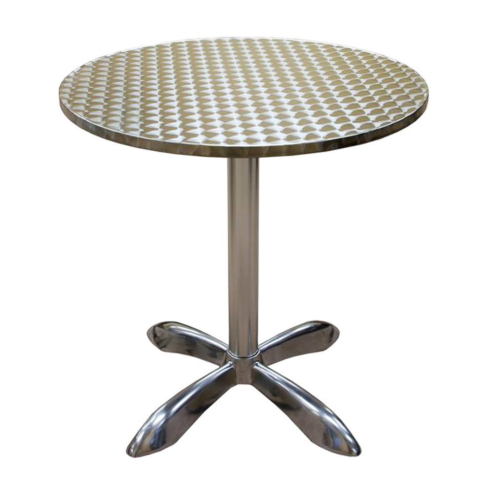 american tables seating al30 27 1 2 round aluminum table