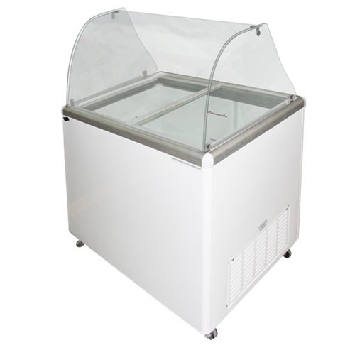 Excellence EDC-8C Ice Cream Freezer Dipping Cabinet with Curved Glass Top - 12.5 Cu. Ft. at Sears.com