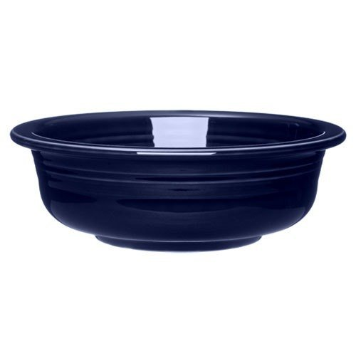 Homer Laughlin 471105 Fiesta Cobalt Blue Large 39.25 oz. Bowl - 4 / Case