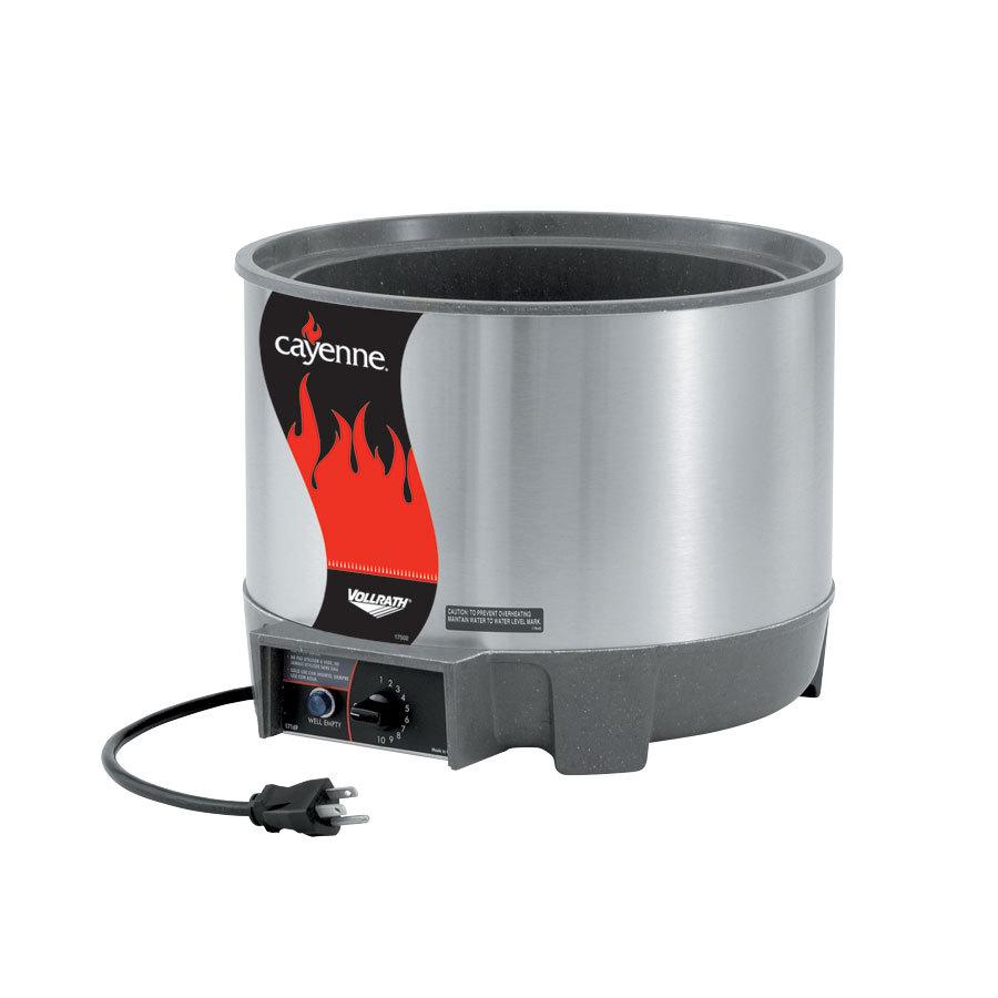 Vollrath Soup Warmers ~ Vollrath qt round quot heat n serve soup warmer
