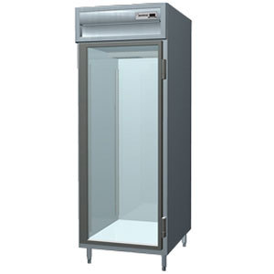 Delfield SMR1-G 25 Cu. Ft. One Section Glass Door Reach In Refrigerator - Specification Line
