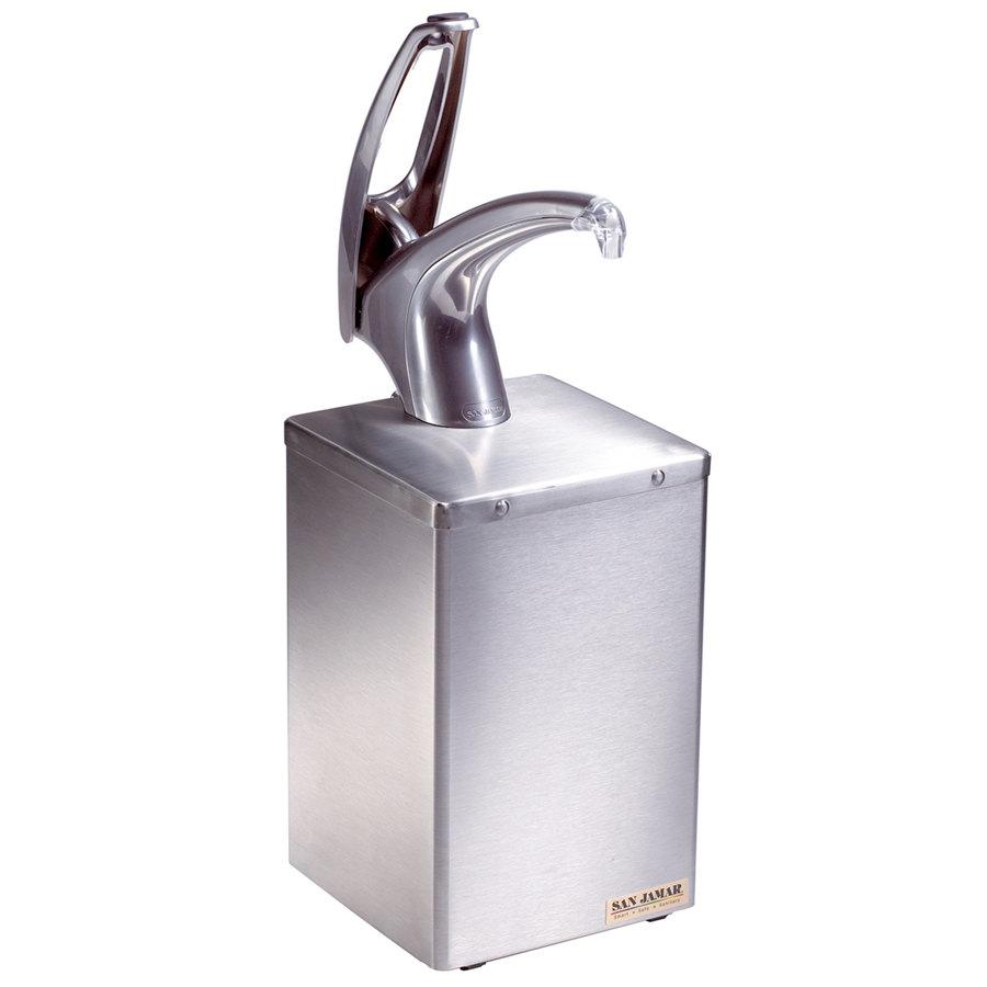 San Jamar P4800 Frontline Countertop Condiment Dispenser