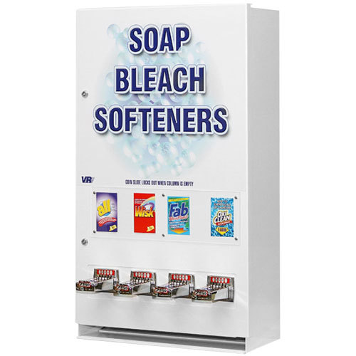 Coin Operated Laundry Soap Vending Machine Four Column