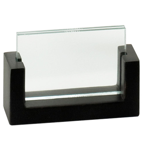 "Cal-Mil 1510-32-96 U-Frame 3 1/2"" x 2"" Midnight Displayette"