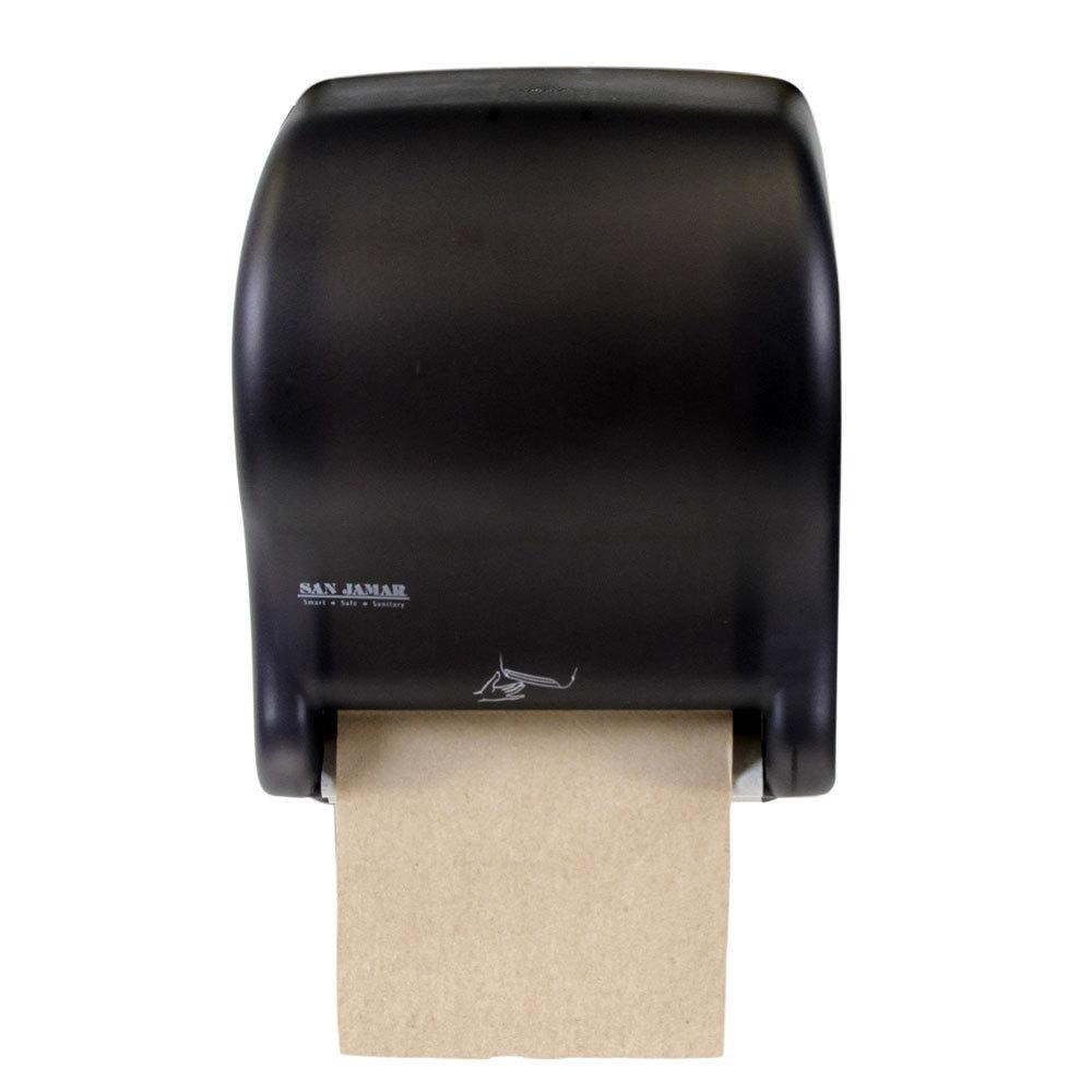 San Jamar T8400TBK Smart Essence Classic Hands Free Paper Towel Dispenser B