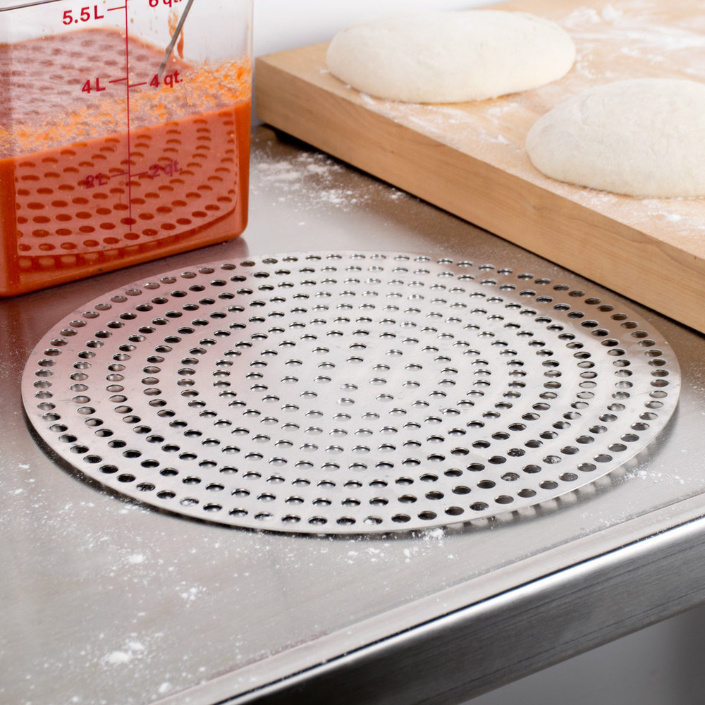 "American Metalcraft 18914SP 14"" Super Perforated Pizza Disk"
