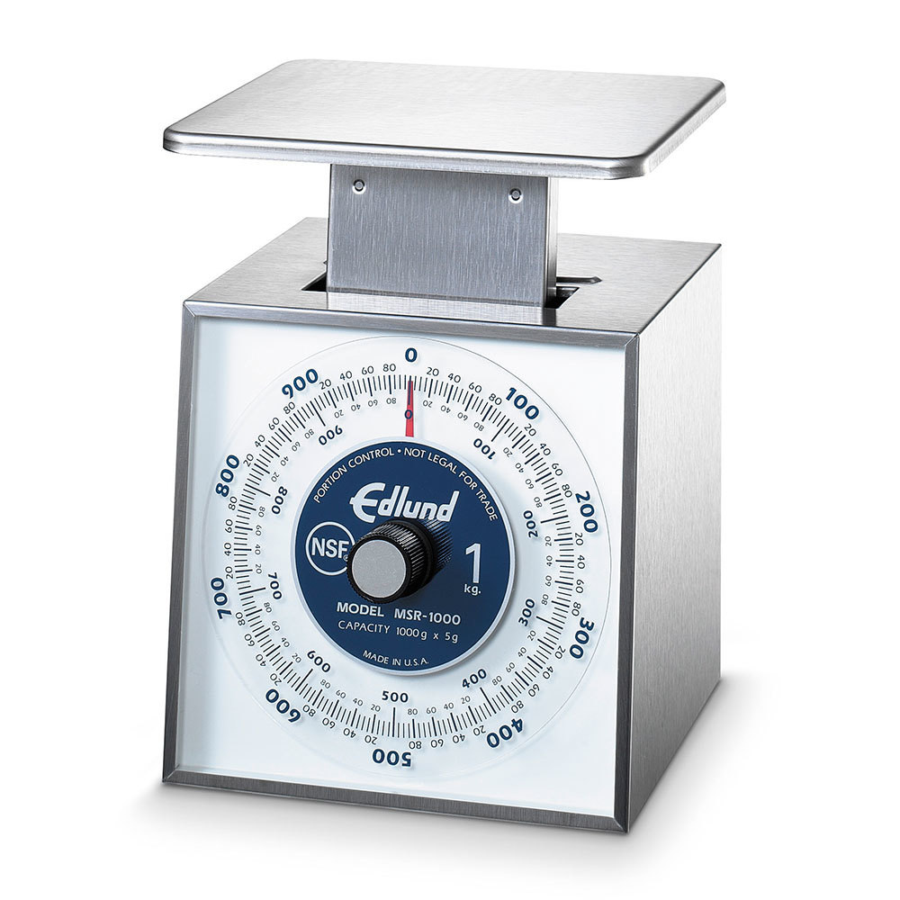 Edlund MSR-10000 Stainless Steel Metric Portion Control Scale