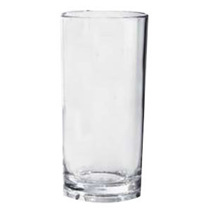 GET Enterprises GET H-9-1-SAN 9 oz. Clear SAN Plastic High Ball Glass - 24 / Case at Sears.com