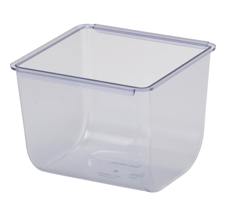 San Jamar BD104 The Dome Replacement Tray for Domed Caddy, 2 Quart