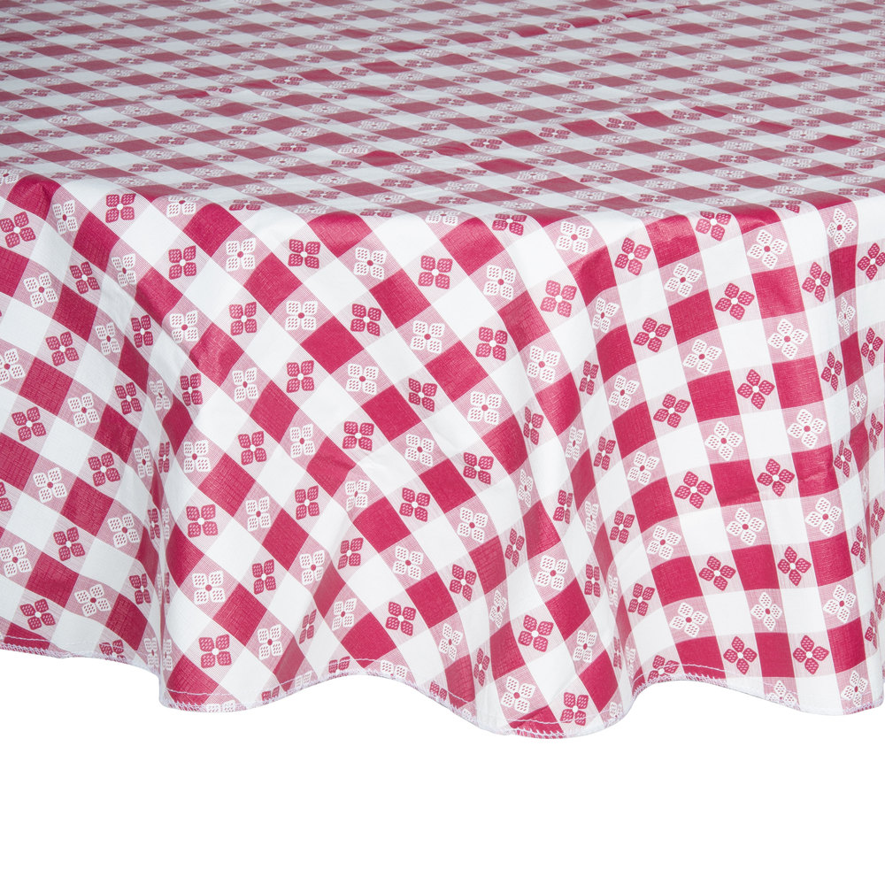 ... Vinyl Table Cover With Flannel Back. Main Picture ...