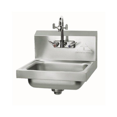 Advance Tabco 7 Ps 55 Hand Sink With Emergency Eye Wash