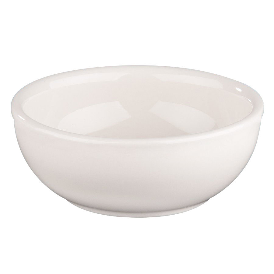 Homer Laughlin 19400 11 oz. Ivory (American White) Narrow Rim China Nappie Bowl - 36/Case