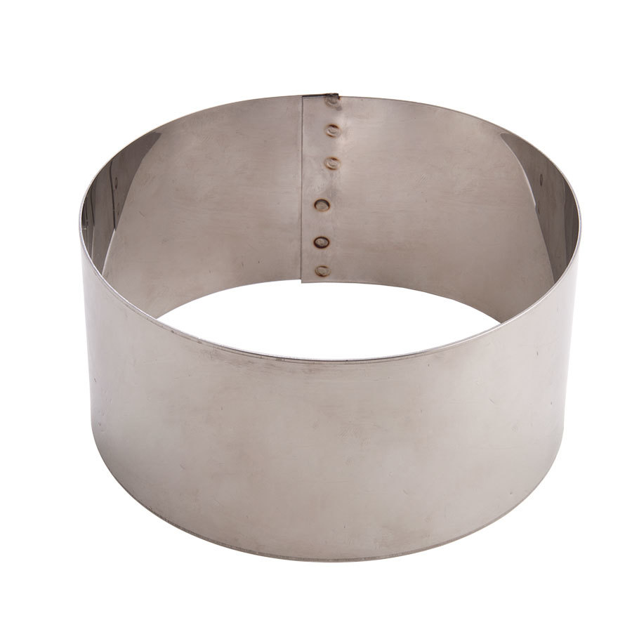 American metalcraft sr6063 6 x 3 stainless steel cake ring for 3 inch rings for crafts