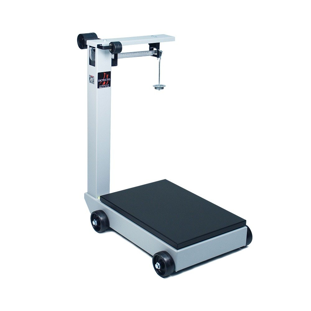 Cardinal detecto 854f50p 500 lb portable mechanical floor for 1000 lb floor scale