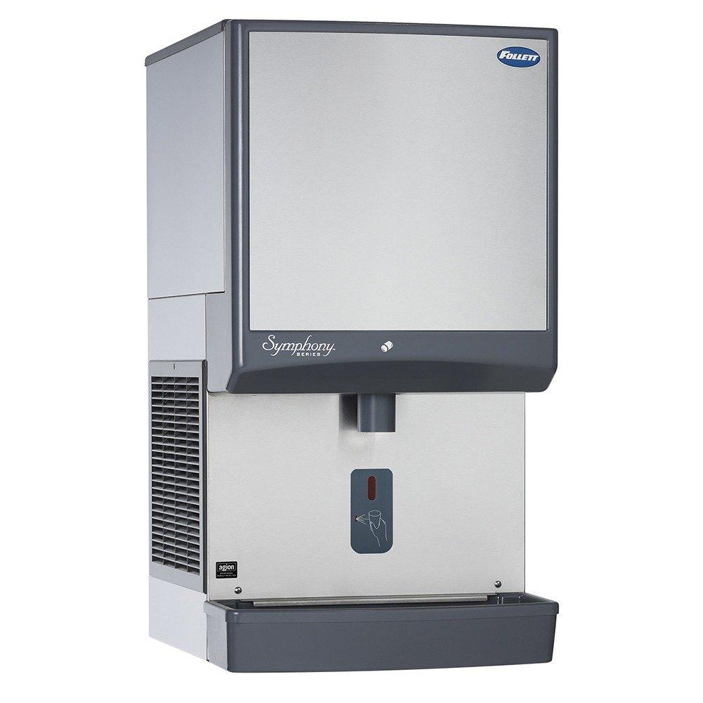 Follett 25CI400A-SI Symphony Countertop Air Cooled Ice Machine ...