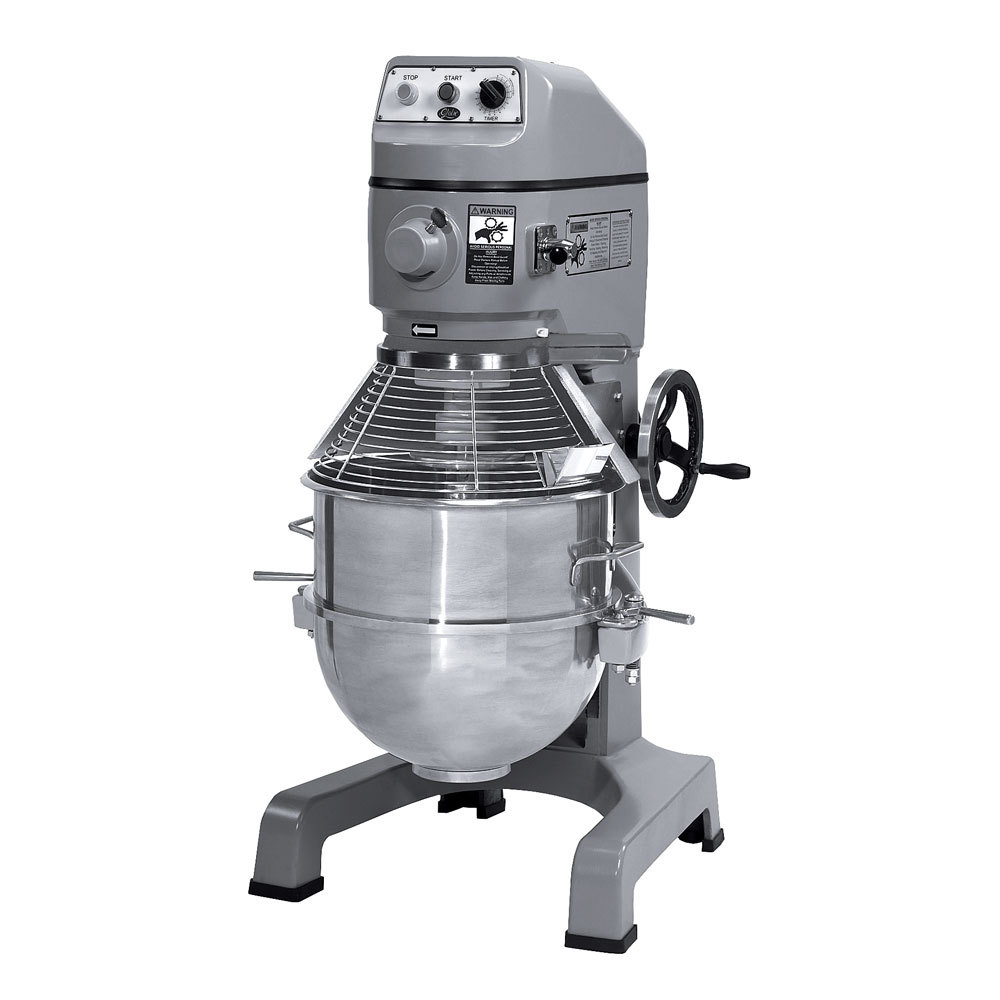 Globe 220 Volts Globe SP62P Gear Driven 60 Qt. Commercial Pizza Stand Mixer - 3 hp Motor at Sears.com