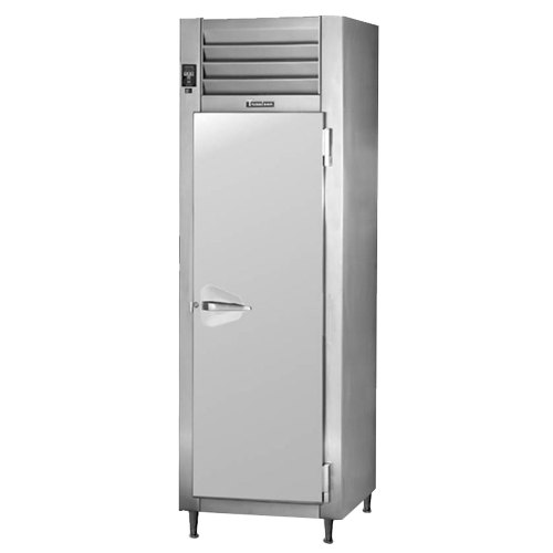 Traulsen AHT126WPUT-FHS 20.4 Cu. Ft. One Section Solid Door Shallow Depth Pass-Through Refrigerator - Specification Line