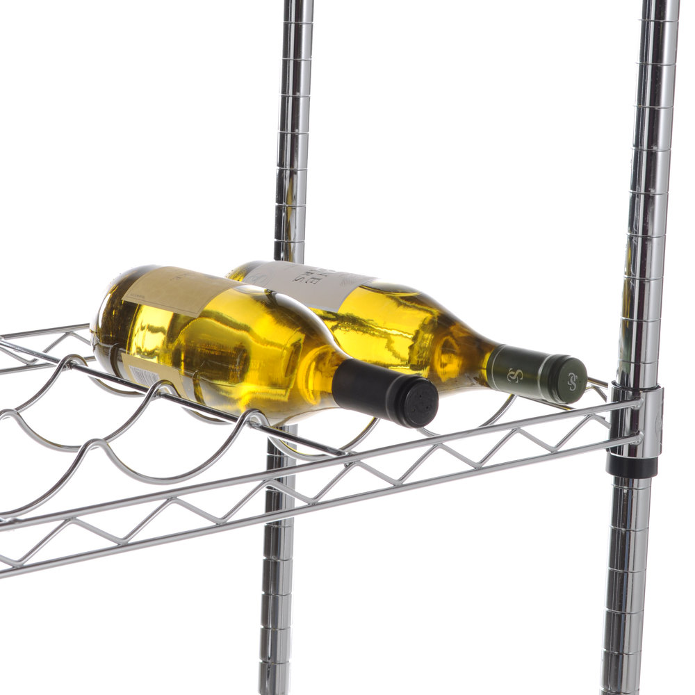 "Regency 14"" x 48"" Wire Wine Shelf - 11 Bottle Capacity"