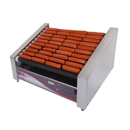 "APW Wyott 120 Volts APW Wyott HRDi-31S X*PERT Digital Hotrod 30 Hot Dog Roller Grill - 19 1/2"" Flat Top at Sears.com"
