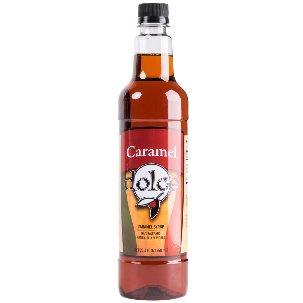 Dolce Caramel Coffee Flavoring Syrup