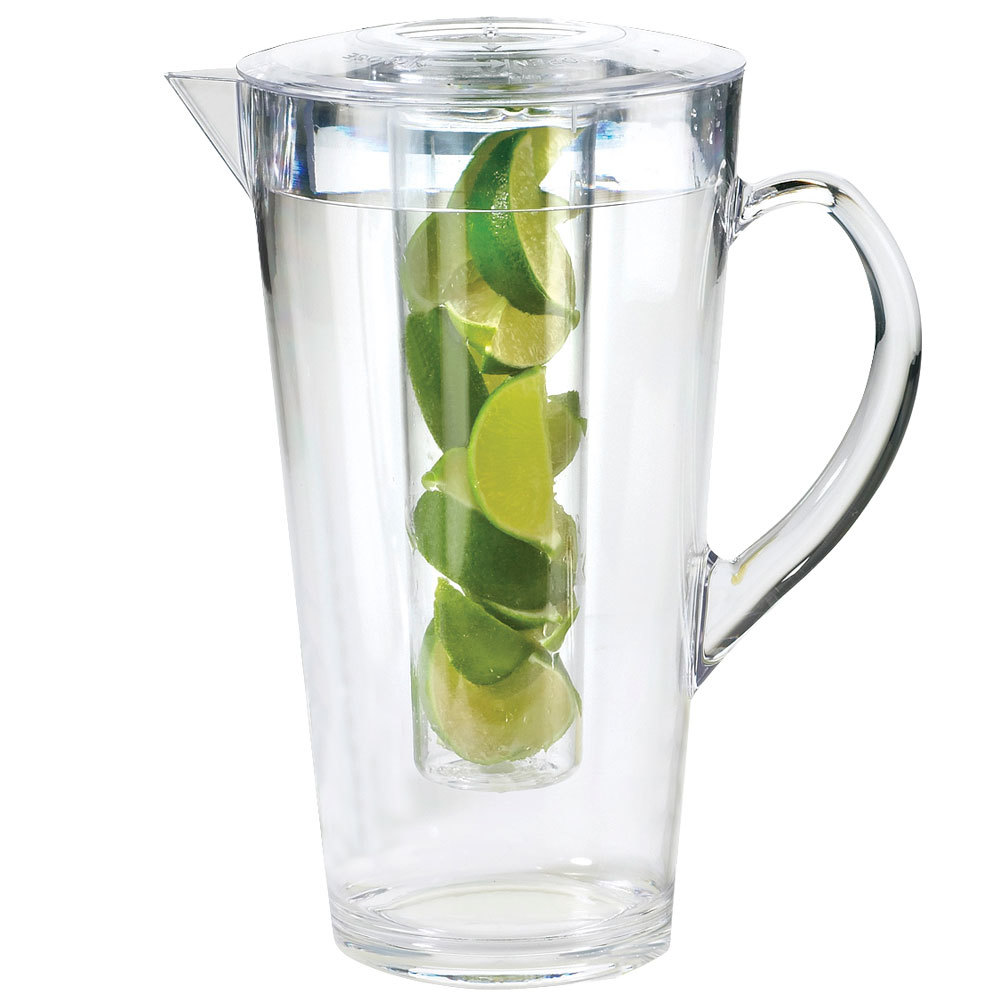 Cal-Mil 682-INFUSION 2 Liter Polycarbonate Pitcher with Infusion Chamber