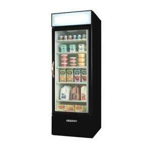 Beverage Air MMR23-1-B-LED Black Marketmax Refrigerated Glass Door Merchandiser with LED Lighting- 23 Cu. Ft. at Sears.com