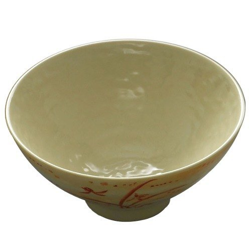 Gold Orchid 11 oz. Round Melamine Rice Bowl - 12/Case