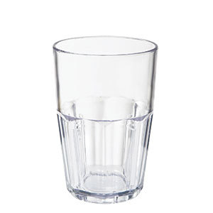 GET 9914-1-CL 14 oz. Clear Break-Resistant Plastic Bahama Tumbler - 72 / Case