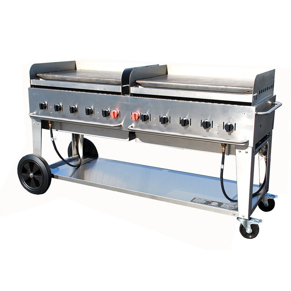 Crown Verity MG-72 Portable Outdoor Griddle - 72 inch