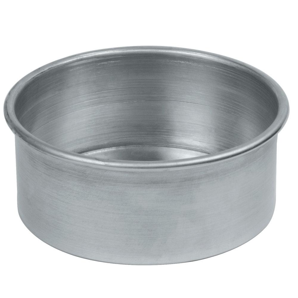 American Metalcraft 3807 7 Quot X 3 Quot Aluminum Round Cake Pan