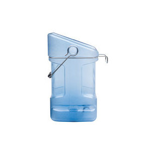 Rubbermaid 9F54 Ice Tote 5.5 Gallon with Ice Bin Adapter (FG9F5400TBLUE)