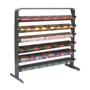 "Bulman Products Inc. Bulman T624-40 40"" Six Roll Horizontal Paper Rack / Cutter at Sears.com"