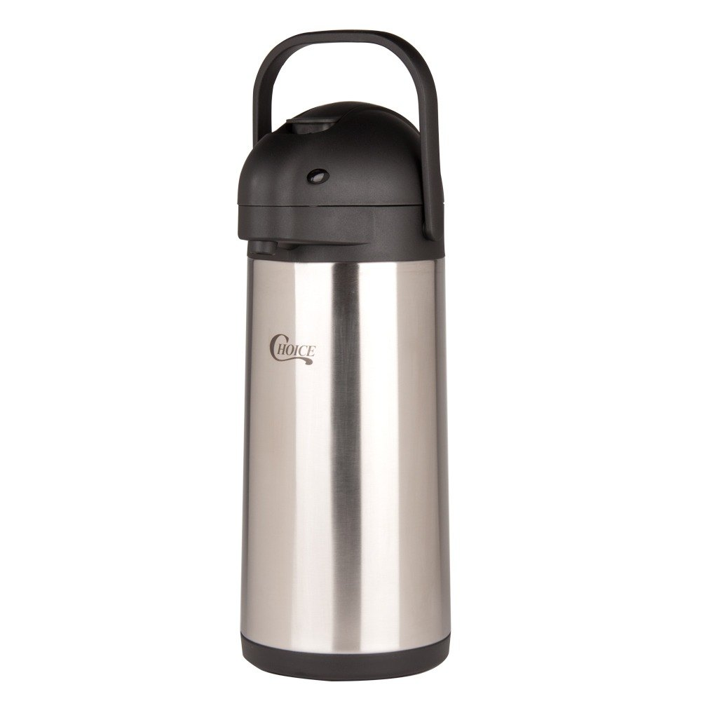 Choice 3 Liter Stainless Steel Lined Airpot with Lever