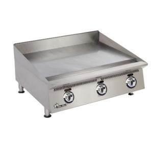 Star 872MA Ultra Max 72 inch Countertop Gas Griddle with Manual Controls - 180,000 BTU