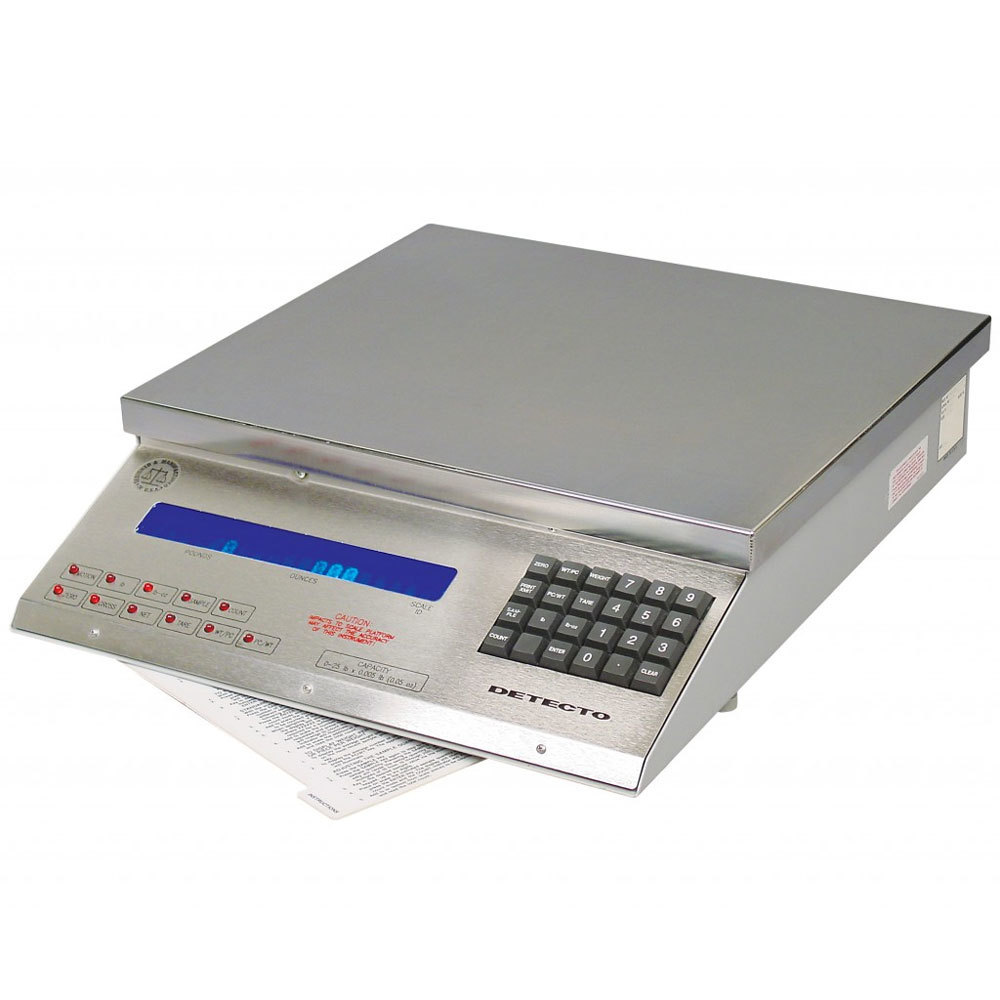 Cardinal Detecto MSB-25 25 lb. Digital Mailing and Shipping Scale, Legal for Trade