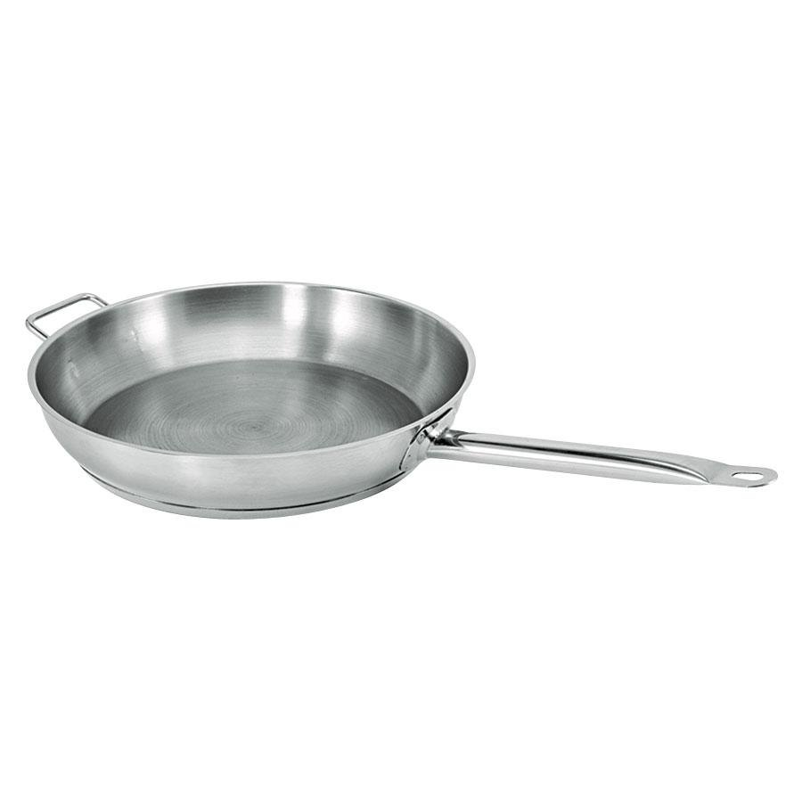 "11"" Aluminum-Clad Stainless Steel Fry Pan 