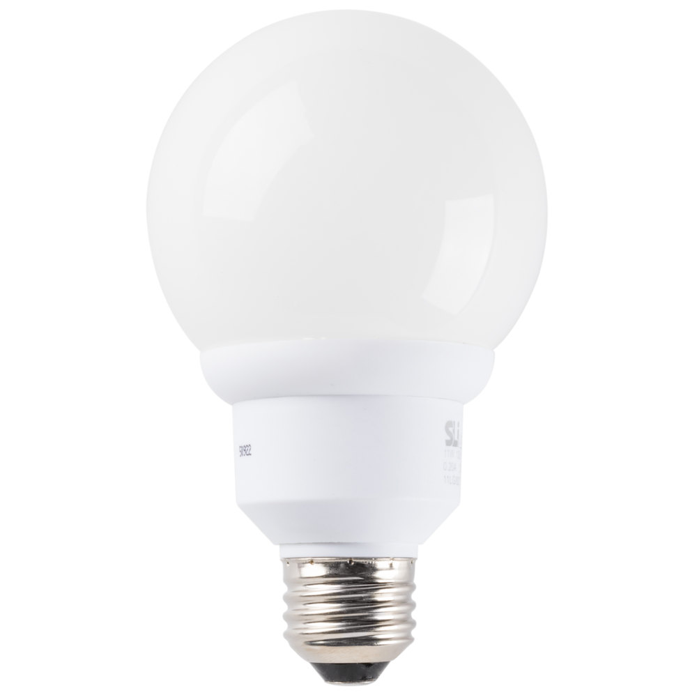 Mini Lynx 9 Watt 40 Watt Equivalent Compact Fluorescent Globe Light Bulb 120v G25 Cfl