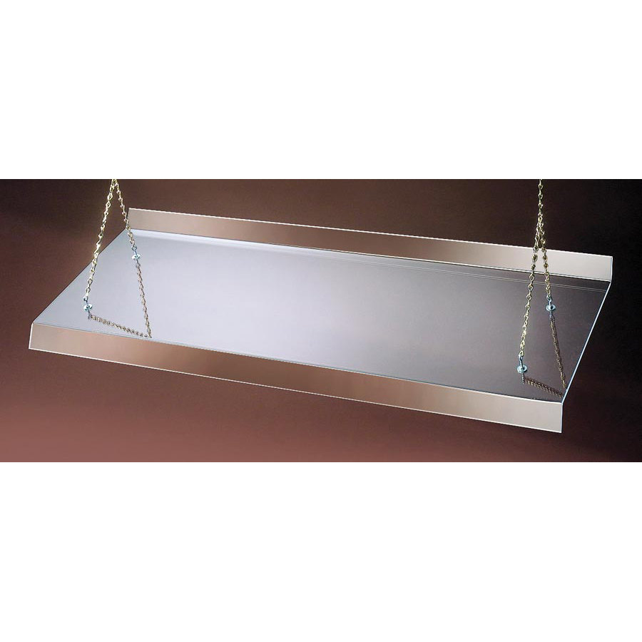 Cal Mil 778-S Suspended Acrylic Sneeze Guard - 72 inch Single Face