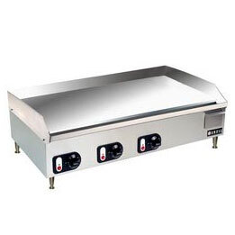 Vollrath Cayenne 40717 36 inch Thermostatic Electric Griddle 220V