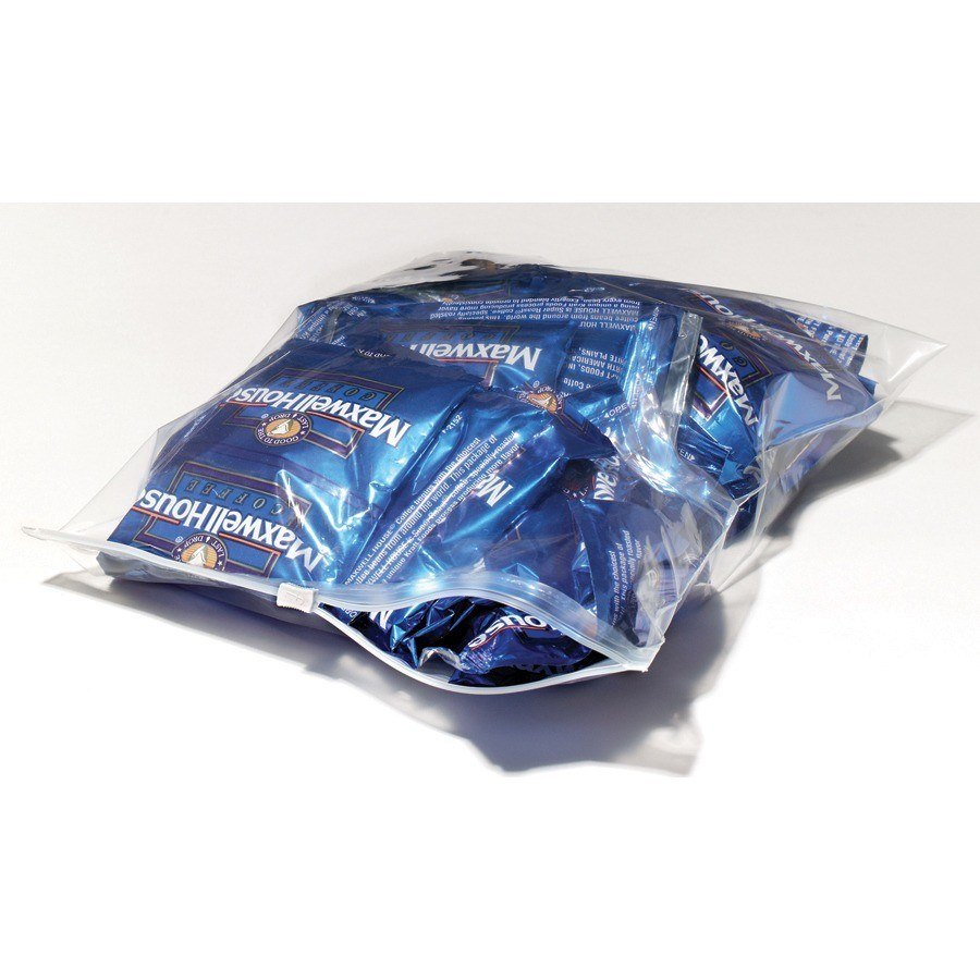 "Plastic Food Bag 14"" x 11"" Slide Seal 250 / Case"