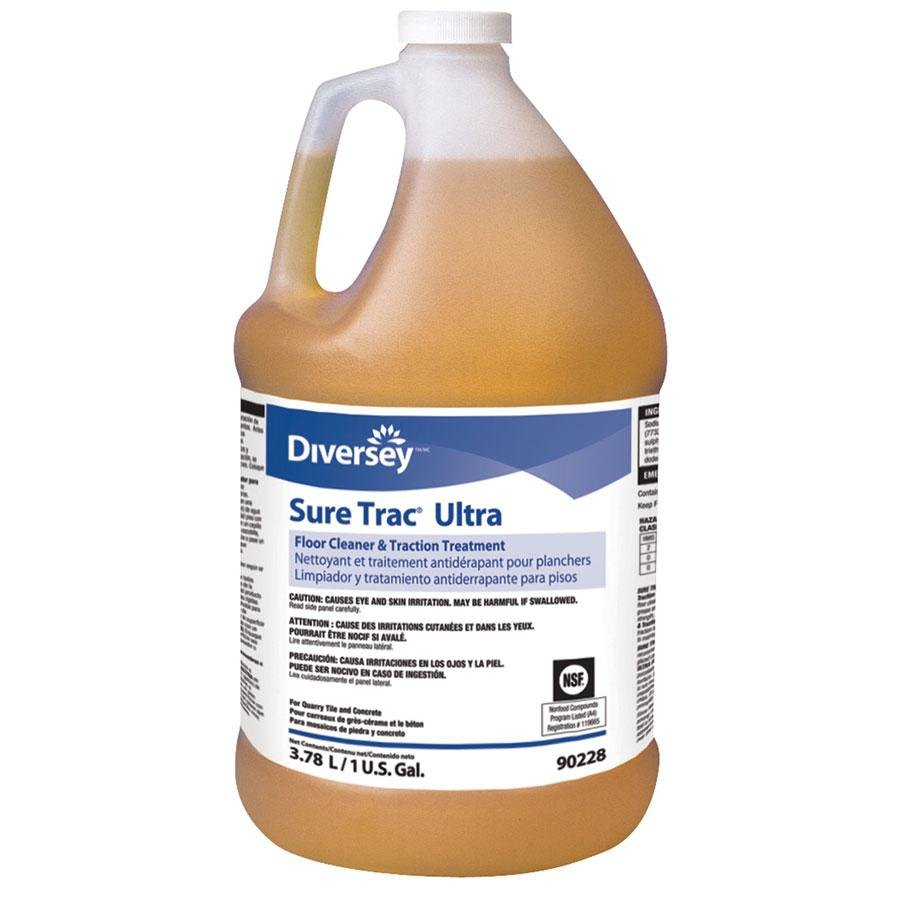 Diversey Sure Trac Ultra 90228 1 Gallon Floor and Tile Cleaner - 2/Case