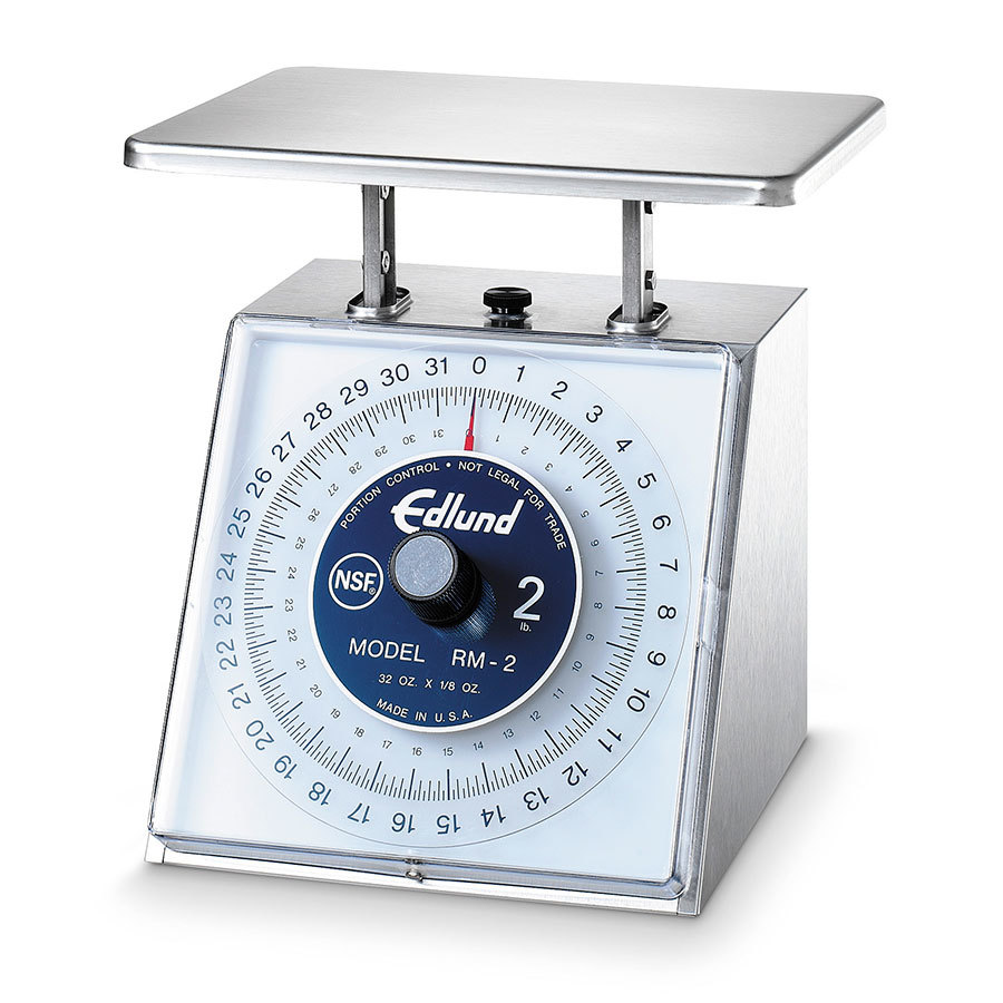 Edlund RM-2 Four Star 32 oz. Portion Control Scale with 7 inch x 8 3/4 inch Platform