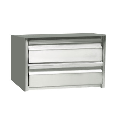 "Advance Tabco ADT-2-2020 2 Tier Drawer Assembly with Side Panels - 20"" x 20"" x 5"" Drawers"
