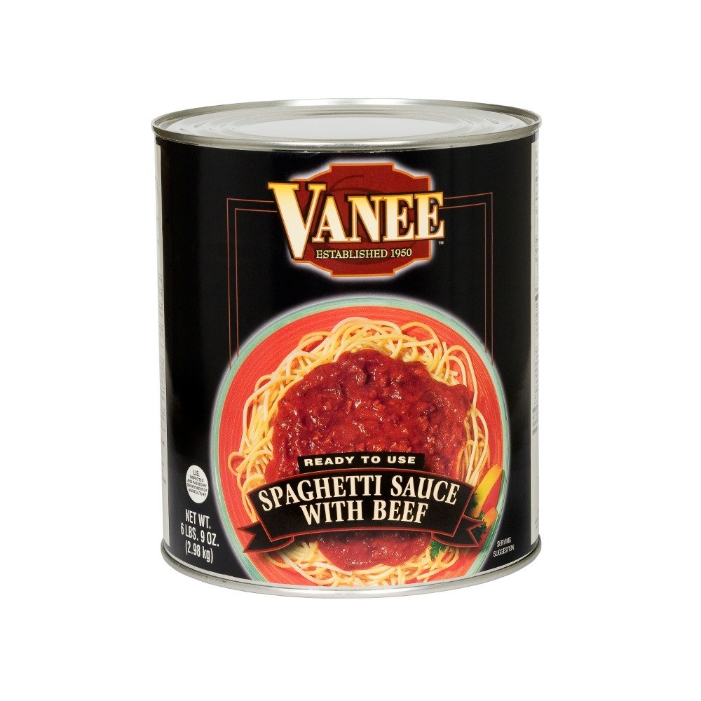 Vanee 590VH #10 Spaghetti Sauce with Beef